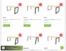 Кейс по продаже столов в стиле Loft