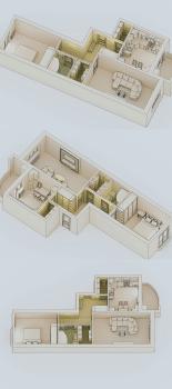 3D макет размещения мебели 7