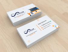 Дизайн визитки Stream