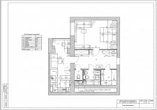 Проект перепланировки 1-комнатной квартиры