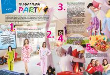 Дизайн, вёрстка статей в детский журнал