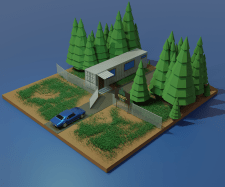 Low Poly models