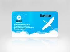 Дизайн пластиковых карт Bakhtar