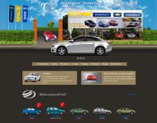 Сайт автосалона Азовпласт