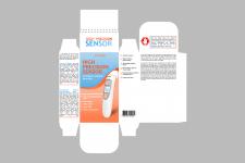 Разработка упаковки для термометра