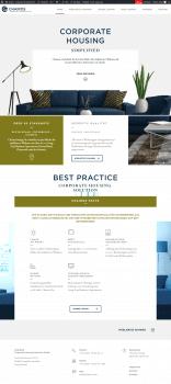 Сайт по тематике аренды жилья бизнес-класса
