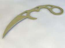 Нож Karambit 3
