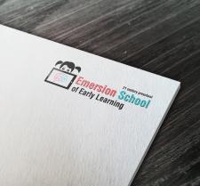 Дизайн логотипа для современной школы