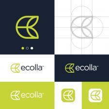 Natural E Letter Logo