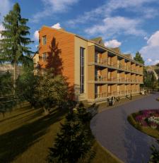 Визуализация жилого корпуса