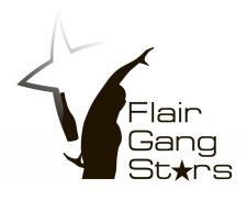 "Логотип для школы барменов ""flair gang stars"""