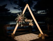 Неоновая вывеска MarryMe Ark