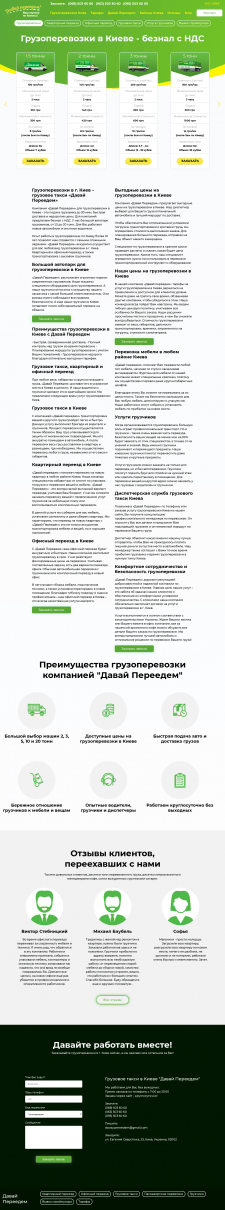Розробка сайту на Codeigniter