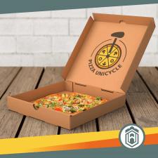 pizza & unicycle
