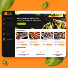 Дизайн сайта Ria Pizza
