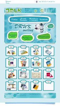 Сайт по созданию визиток