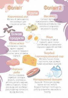"""Брошюра """"Советы по питанию"""" - сторона 2"""