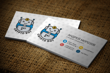 """Разработка визитки для компании """"1St Crypto Bot"""""""