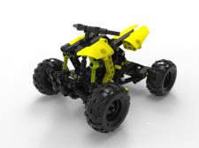 Проектування квадроцикла у стилі LEGO