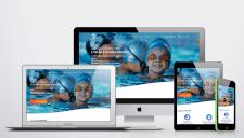 лэндинг пэйдж Школа плавания