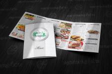 """меню для ресторана """"Фонтан"""""""