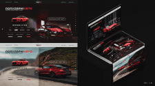 Дизайн сайта для PartnerAvto