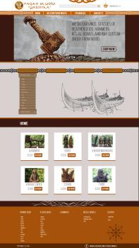 Дизайн сайта для Pagan Studio Yarinka