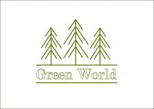"""Логотип для """"Green World"""""""