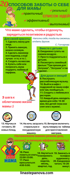 Оформление инфографики