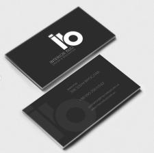 Лого и визитка Interior Bud