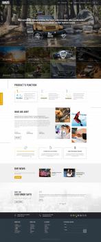 Индивидуальная разработка сайт-каталог Nanoprotech