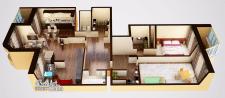 Визуализация планировки квартиры