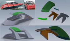 Розробка даху під виготовлення матриці станком ЧПУ