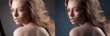 Цветокоррекция+ретушь