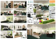 """Дизайн интерьера офиса компании """"Tibilit"""""""