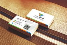 Дизайн корпоративной визитки