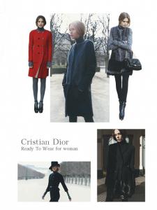 Вёрстка fashion журнала