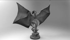 3D скульптура игрового персонажа