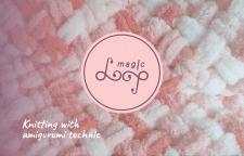 Логотип для  handmade (вязание крючком)