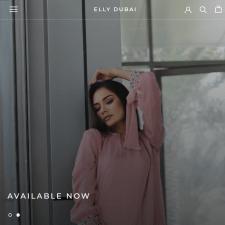 ELLY Dubai - Shopify магазин женской одежды