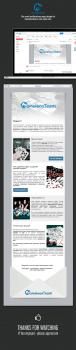 Дизайн посадочной страницы для емейл уведомления