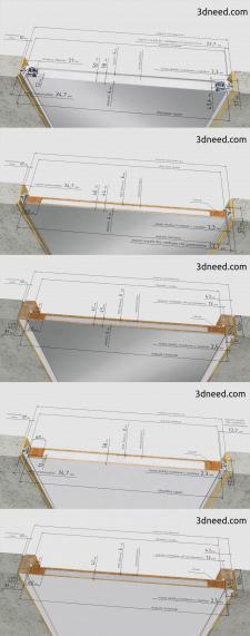 3d моделирование и визуализация конструктив дверей