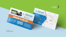 Интернет-магазин Zenon. Візитка