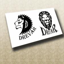 Чорновик логотипу деревообробної майстерні