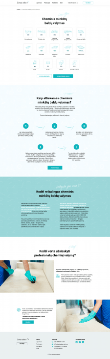 Сайт для клінінгової компанії