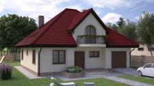 Экстерьерная визуализация дома