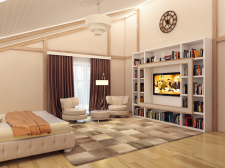 Спальня в частном SPA