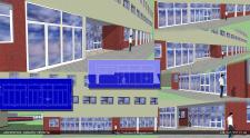 проект остекления фасада