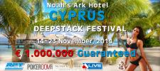 Флаер для покер-турнира на Кипре