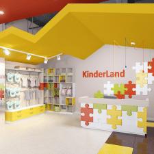 дизайн-проект интерьеров детского магазина в г.Дон